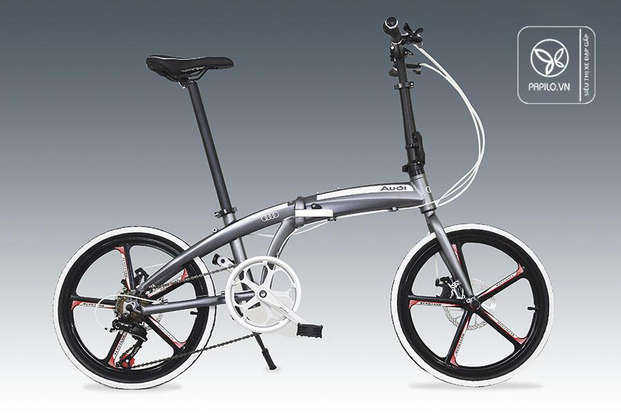 xe đạp gấp audi navigate 5 - chiếc xe của thương hiệu nổi tiếng