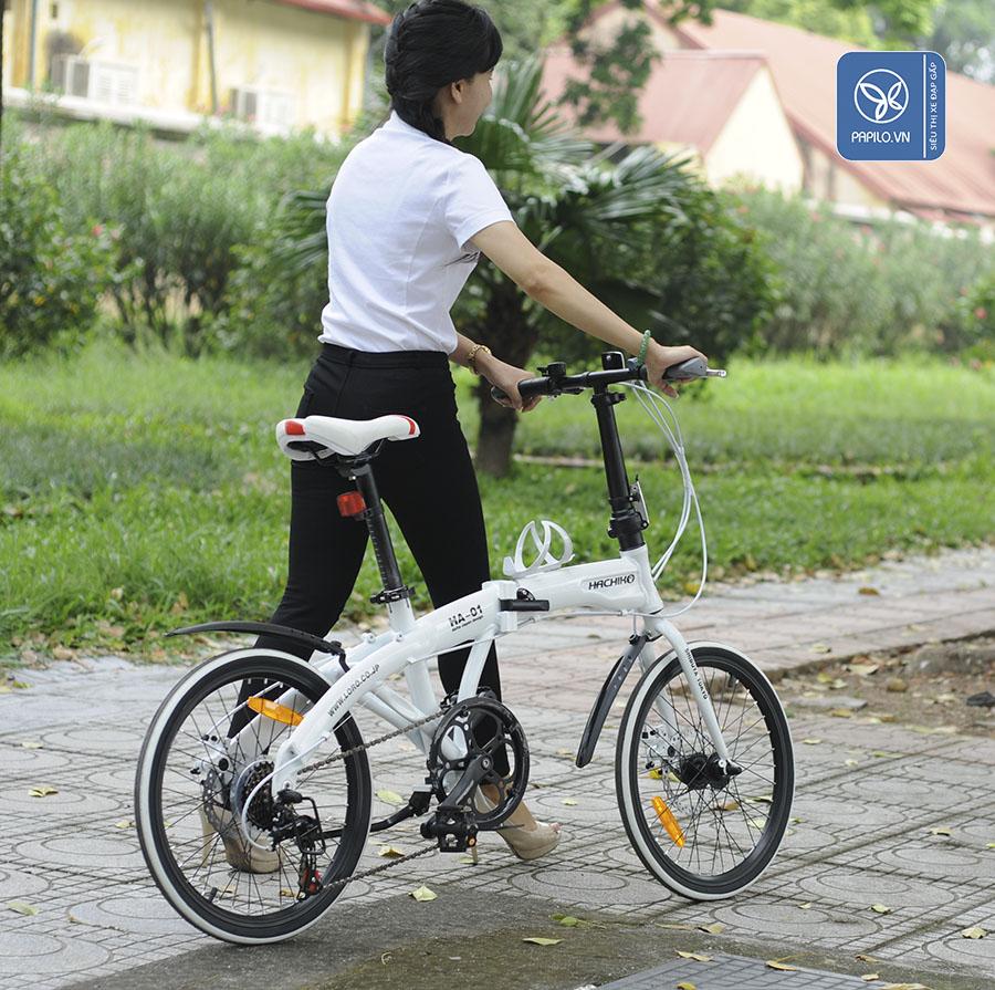 5 lý do nên đi làm bằng xe đạp gấp
