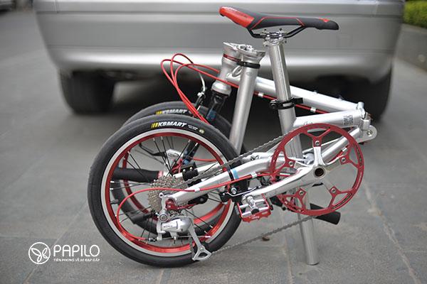 Địa chỉ mua xe đạp gấp ở tphcm - hàng chính hãng