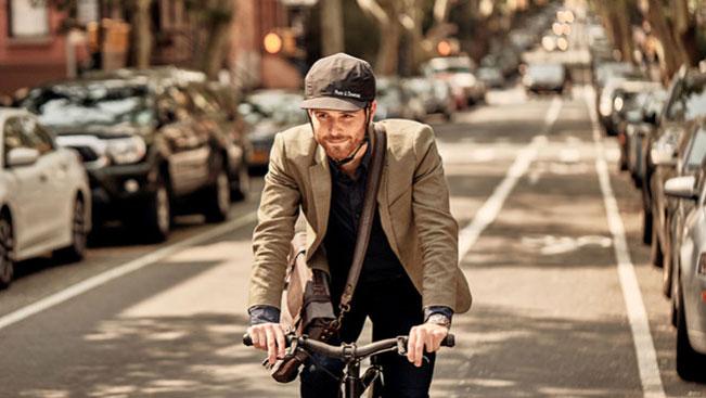 Mũ bảo hiểm Park & Diamond tạo cảm giác thời trang và thoải mái cho người đi xe đạp