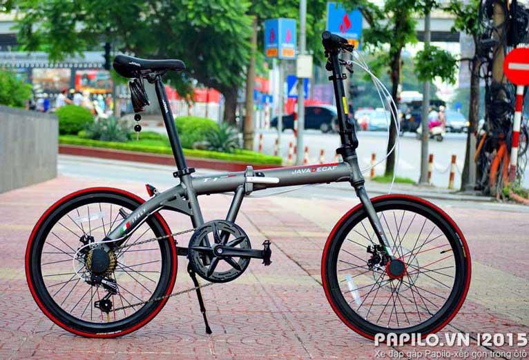 Xe đạp gấp Java decaf