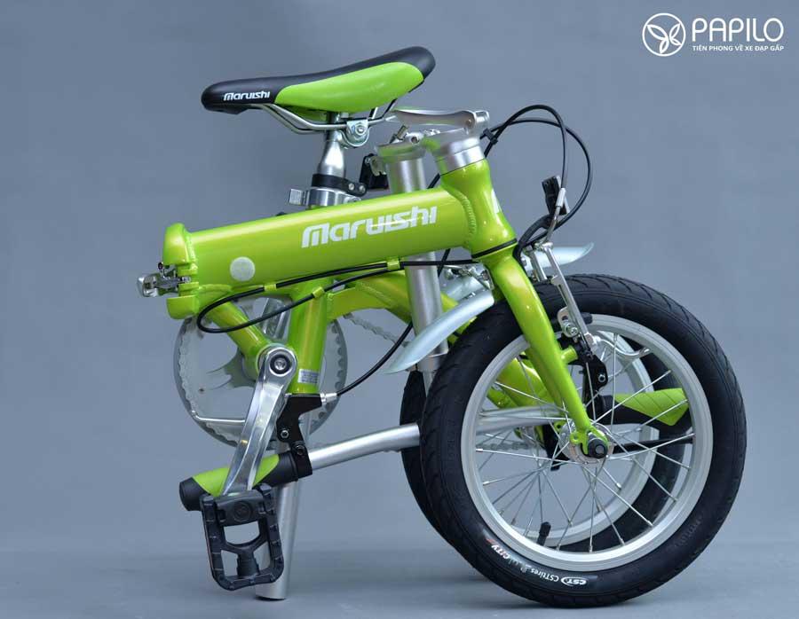 Xe đạp Nhật Bản gấp gọn nguyên chiếc mới 100%