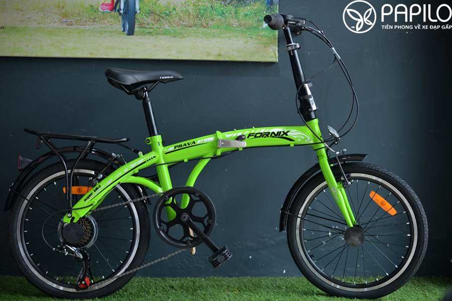 xe đạp gấp giá rẻ, xe đạp gấp fornix prava 20