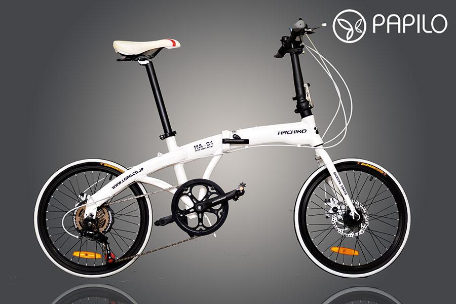 xe đạp gấp Hachiko HA01