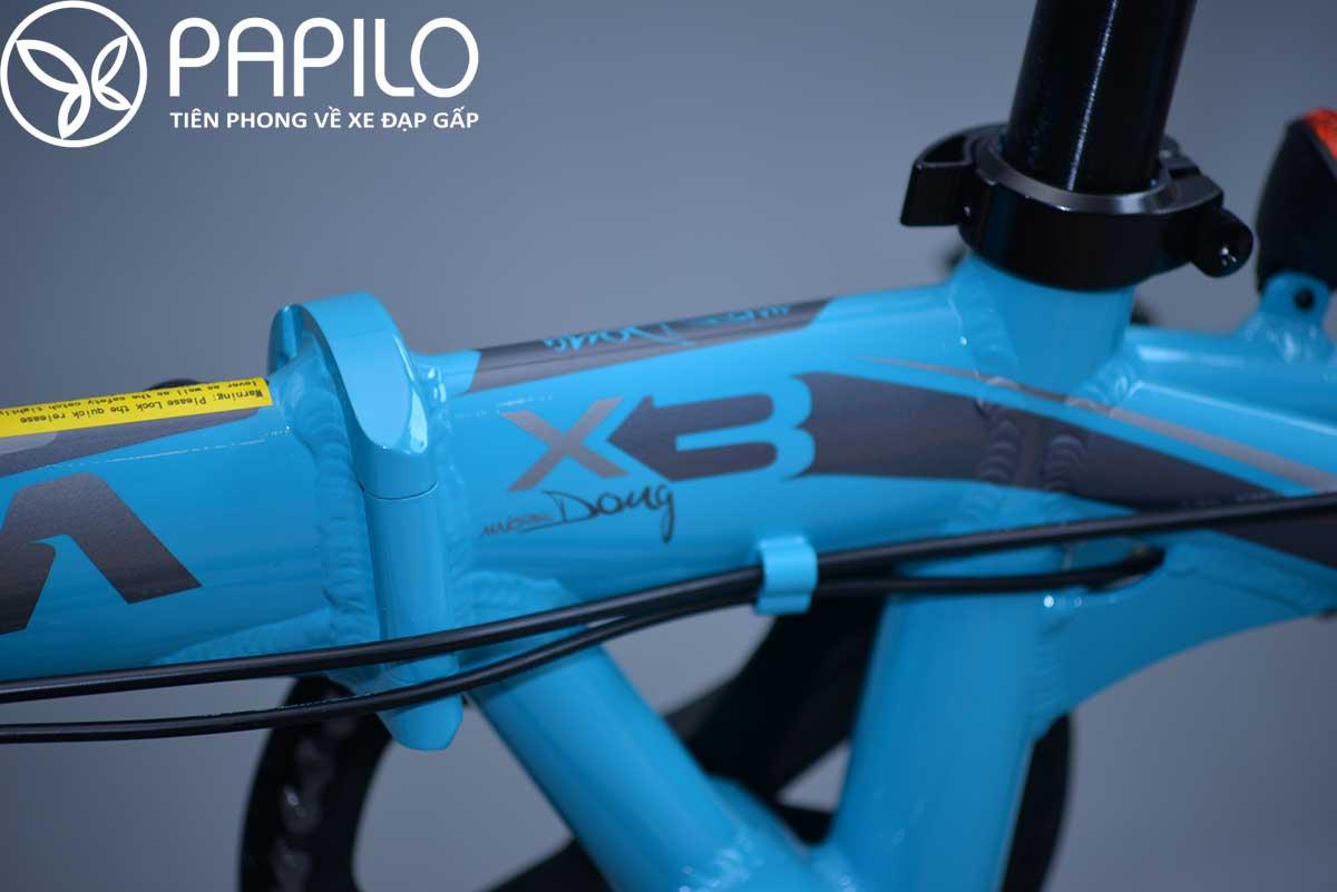 xe đạp gấp Java X3