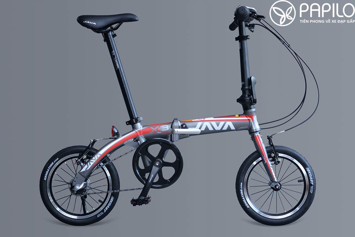 xe đạp gáp java X3