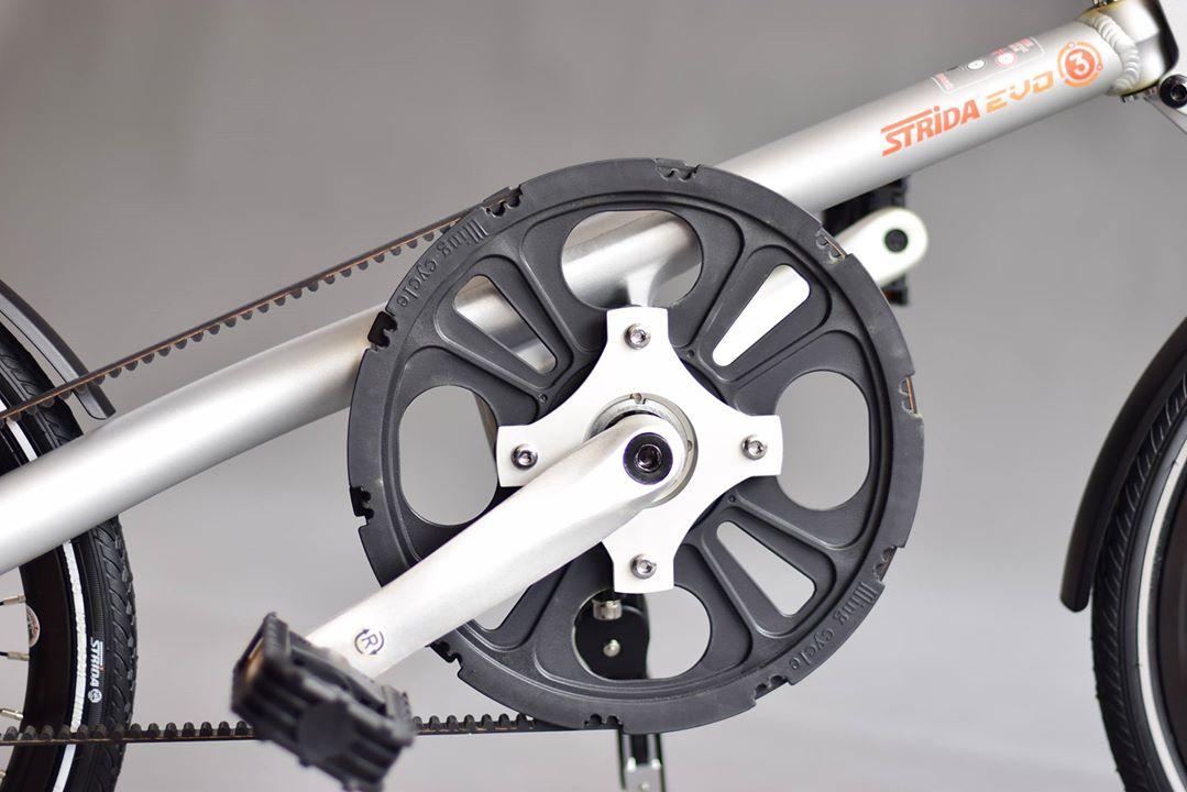 xe đạp gấp Strida evo - Độc, lạ, đỏi mới