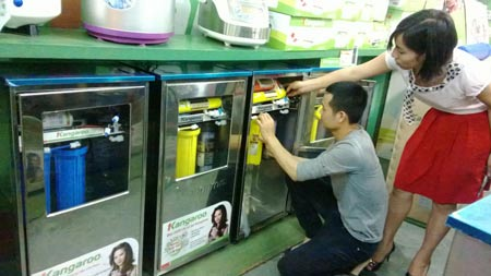 hướng dẫn chọn mua máy lọc nước kangaroo