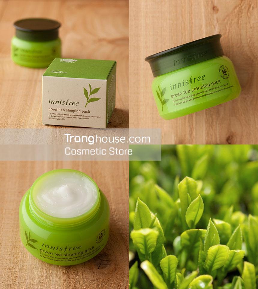 Mt N Ng Tr Xanh Innisfree Green Tea Sleeping Pack M Phm Hn Quc Trangs House