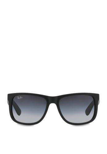 Mắt Kính RayBan RB4165 Justin Sunglasses, Rubber Black 1