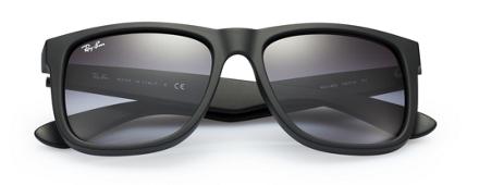 Mắt Kính RayBan RB4165 Justin Sunglasses, Rubber Black 3