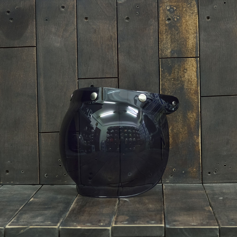 Bulldog Bubble Shield Dark (Flip-up)