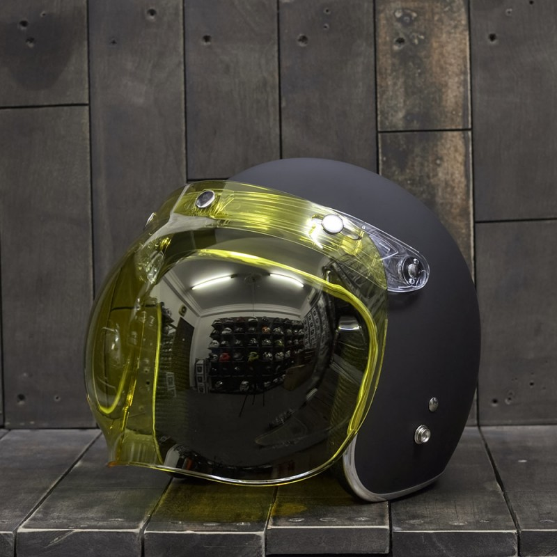 Bulldog Bubble Shield Yellow (Flip-up) 2
