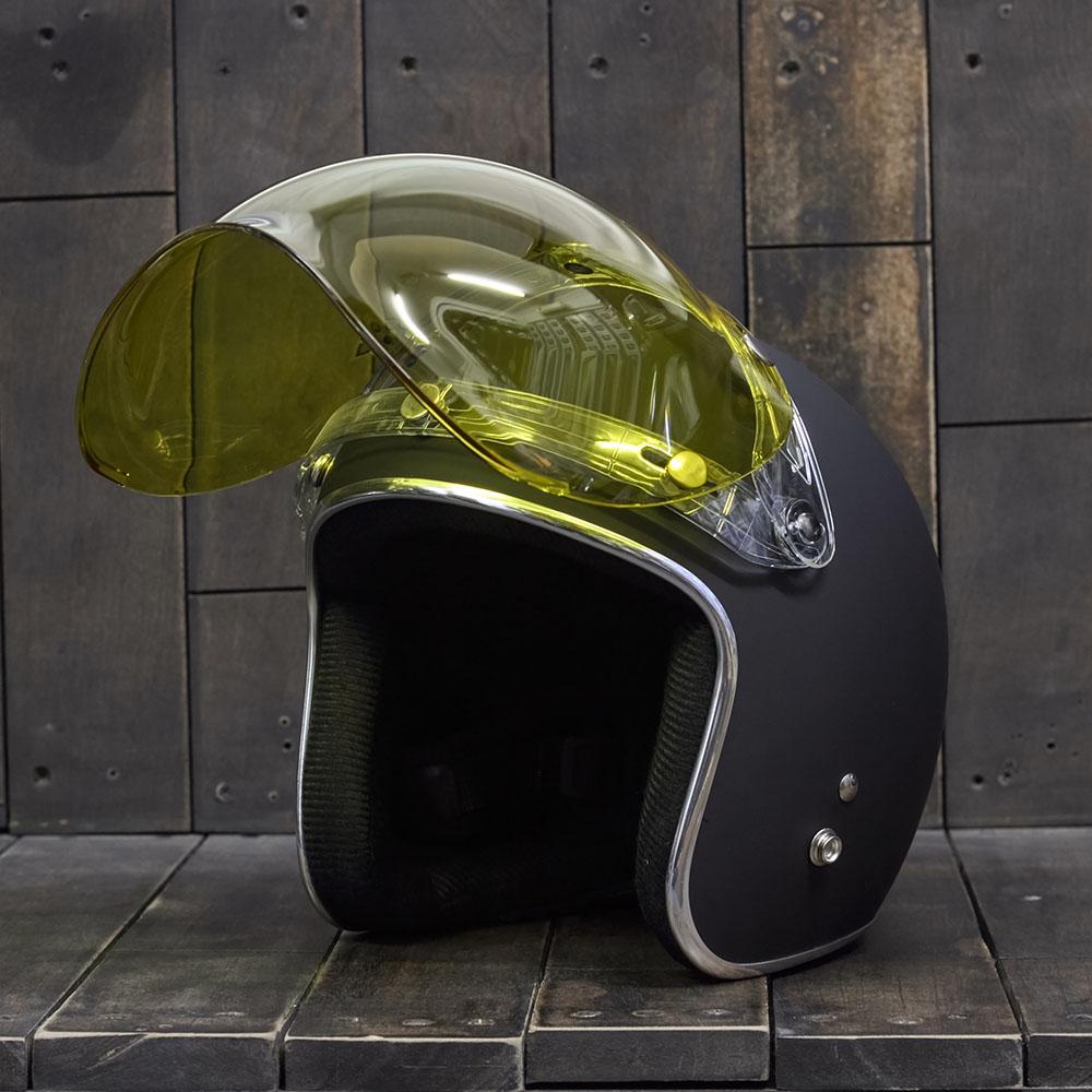Bulldog Bubble Shield Yellow (Flip-up) 4