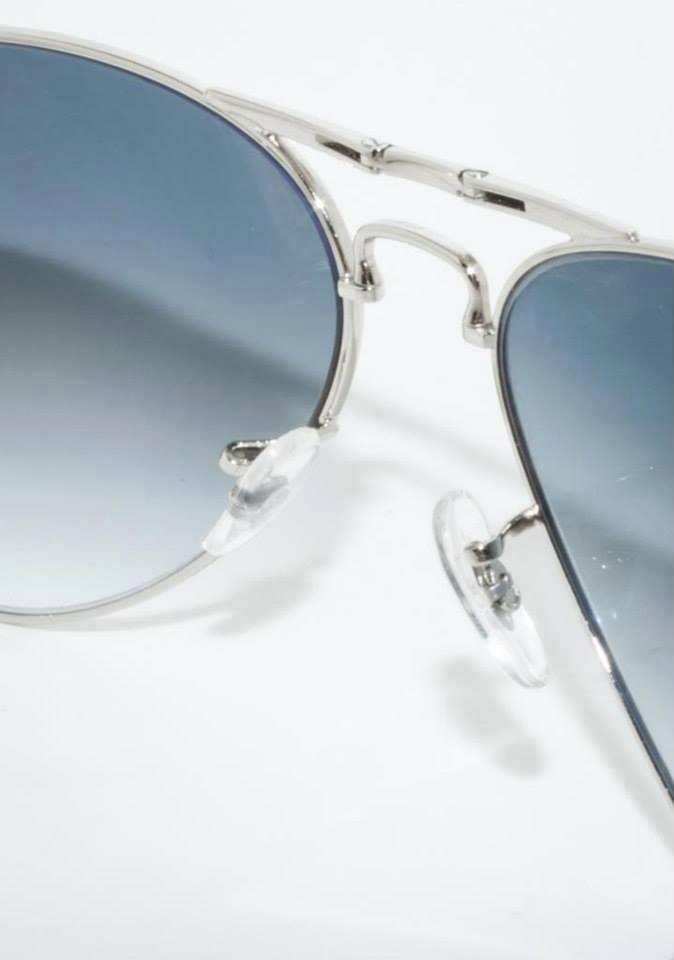 Mắt kính RayBan gập cao cấp màu Xám Tro 3