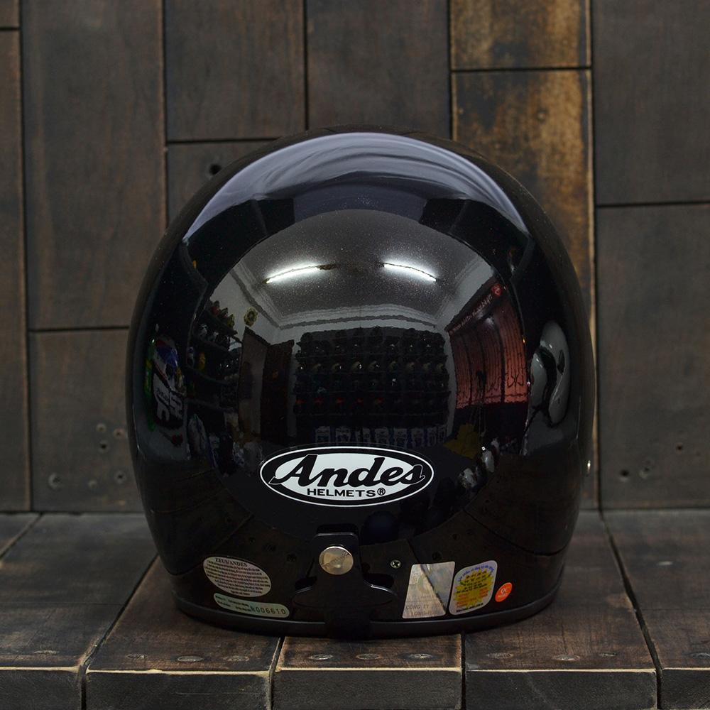 Mũ Bảo Hiểm 3/4 Andes 111 Black 2