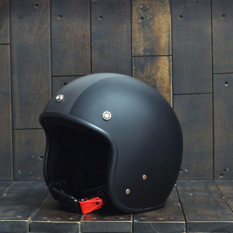 Mũ bảo hiểm 3/4 Andes-111-Ride-Matt-Black 2