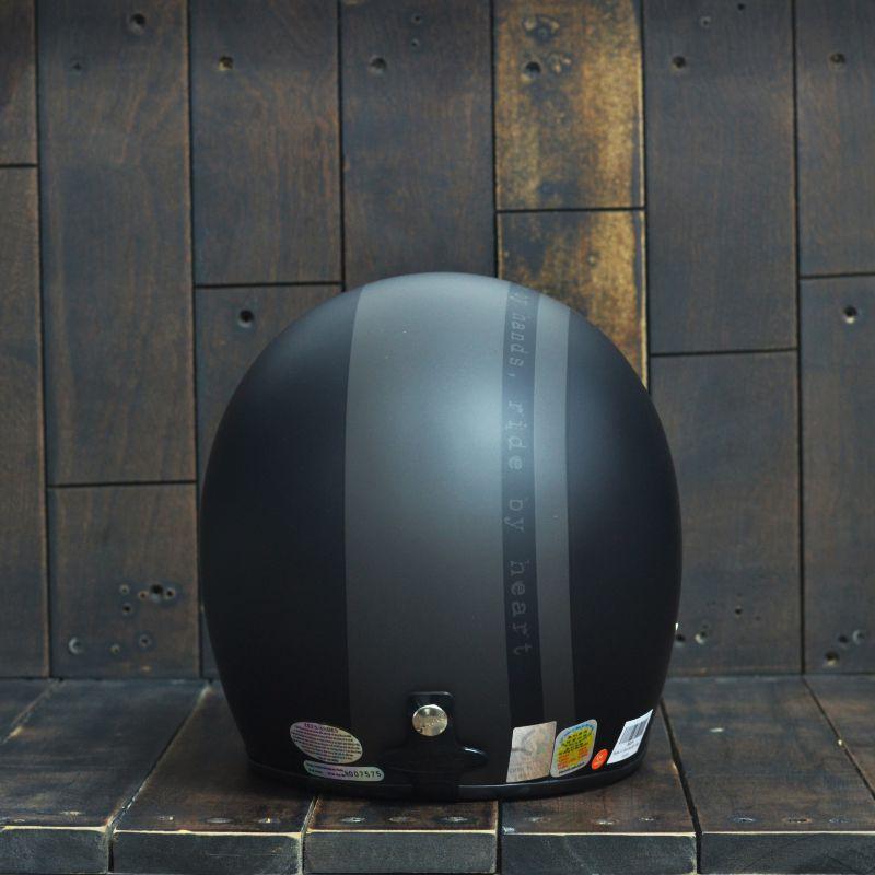 Mũ bảo hiểm 3/4 Andes-111-Ride-Matt-Black 3