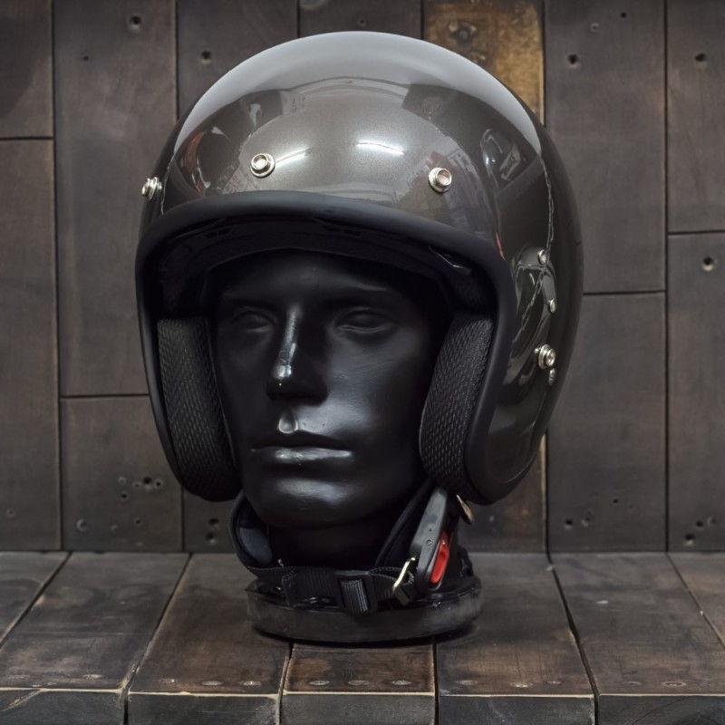 Mũ bảo hiểm 3/4 OWL HBSmall JET TT Gunmetal