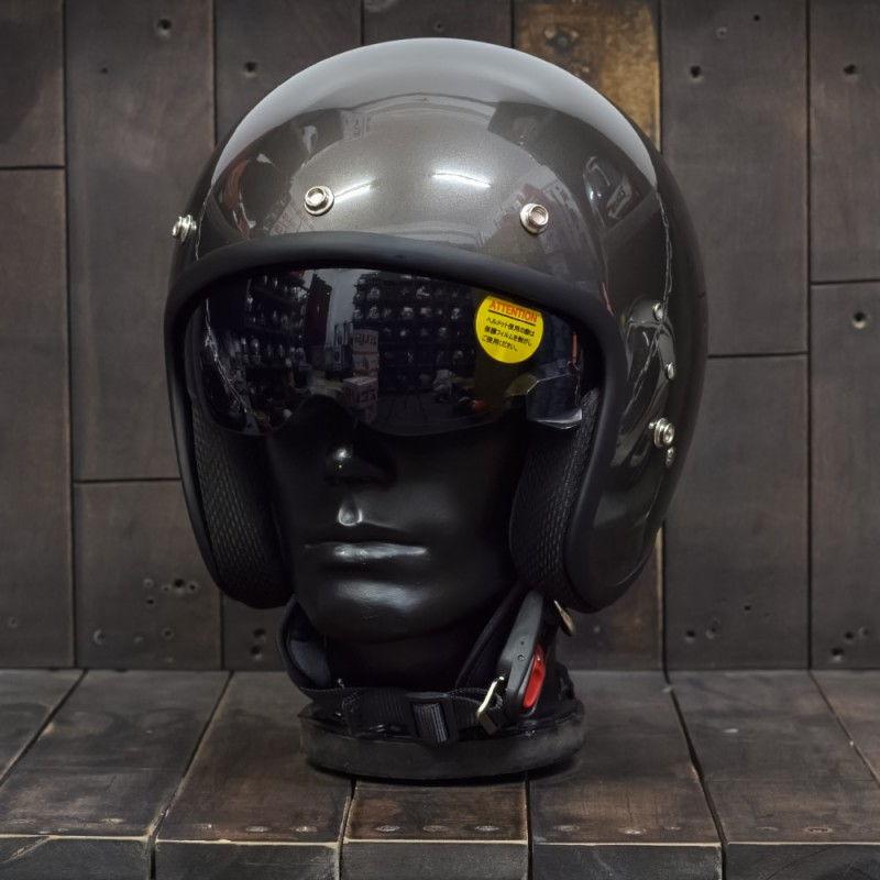 Mũ bảo hiểm 3/4 OWL HBSmall JET TT Gunmetal 2