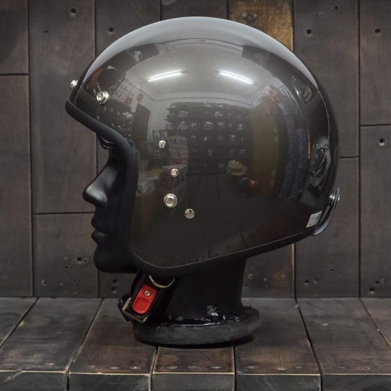 Mũ bảo hiểm 3/4 OWL HBSmall JET TT Gunmetal 5