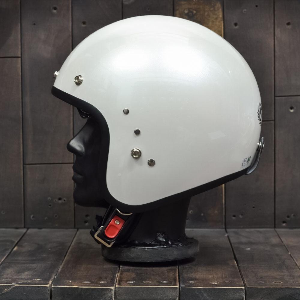 Mũ bảo hiểm 3/4 OWL HBSmall JET TT Pearl White 3