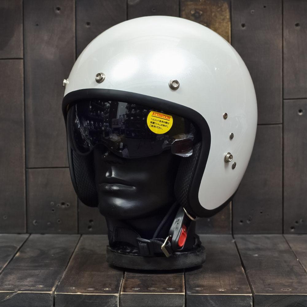 Mũ bảo hiểm 3/4 OWL HBSmall JET TT Pearl White 2