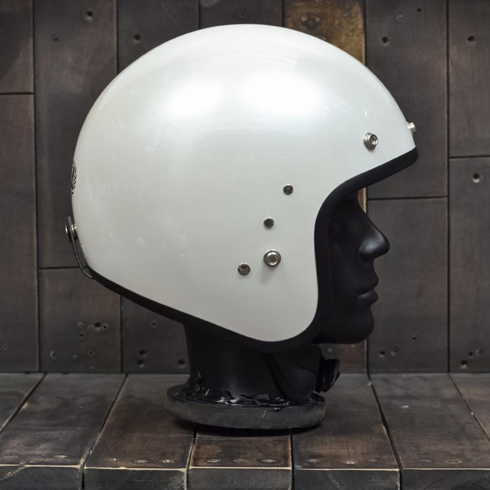 Mũ bảo hiểm 3/4 OWL HBSmall JET TT Pearl White 5