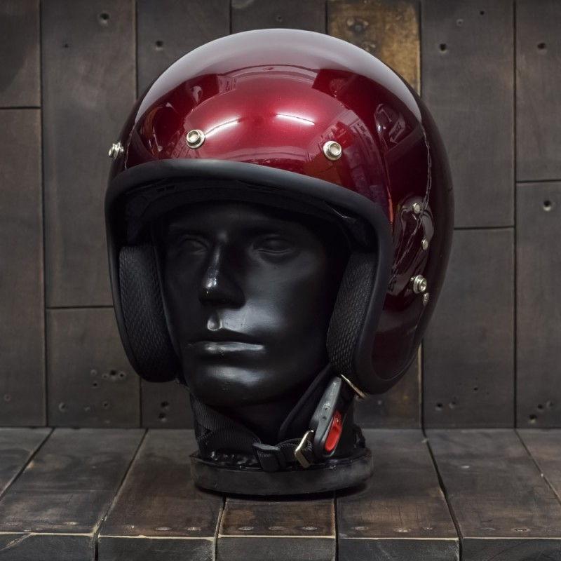 Mũ bảo hiểm OWL HBSmall JET TT Wine 1