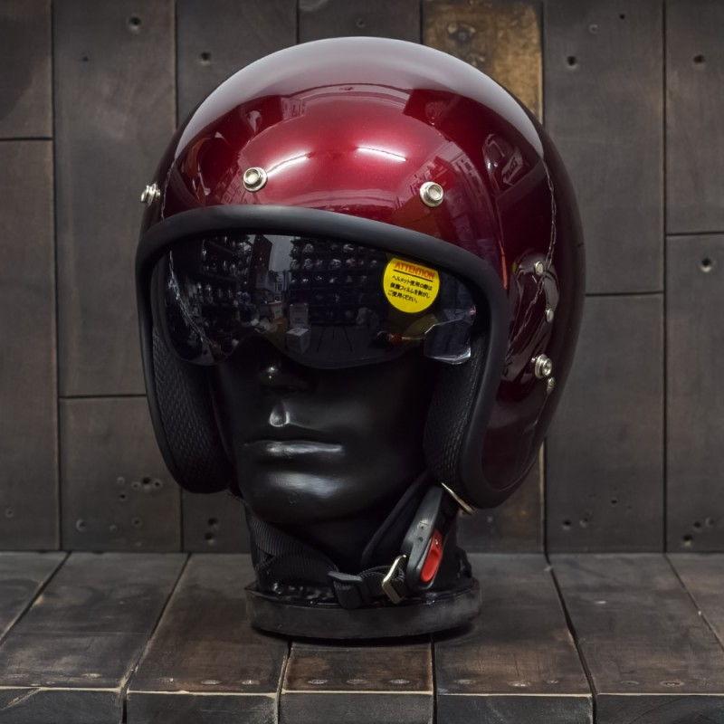 Mũ bảo hiểm OWL HBSmall JET TT Wine 2