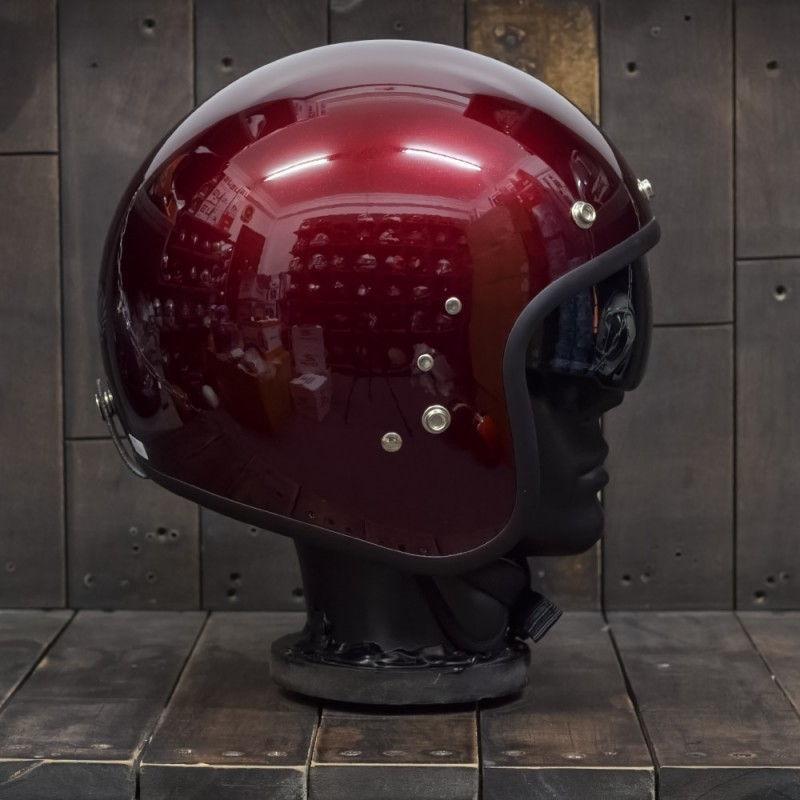 Mũ bảo hiểm OWL HBSmall JET TT Wine 3