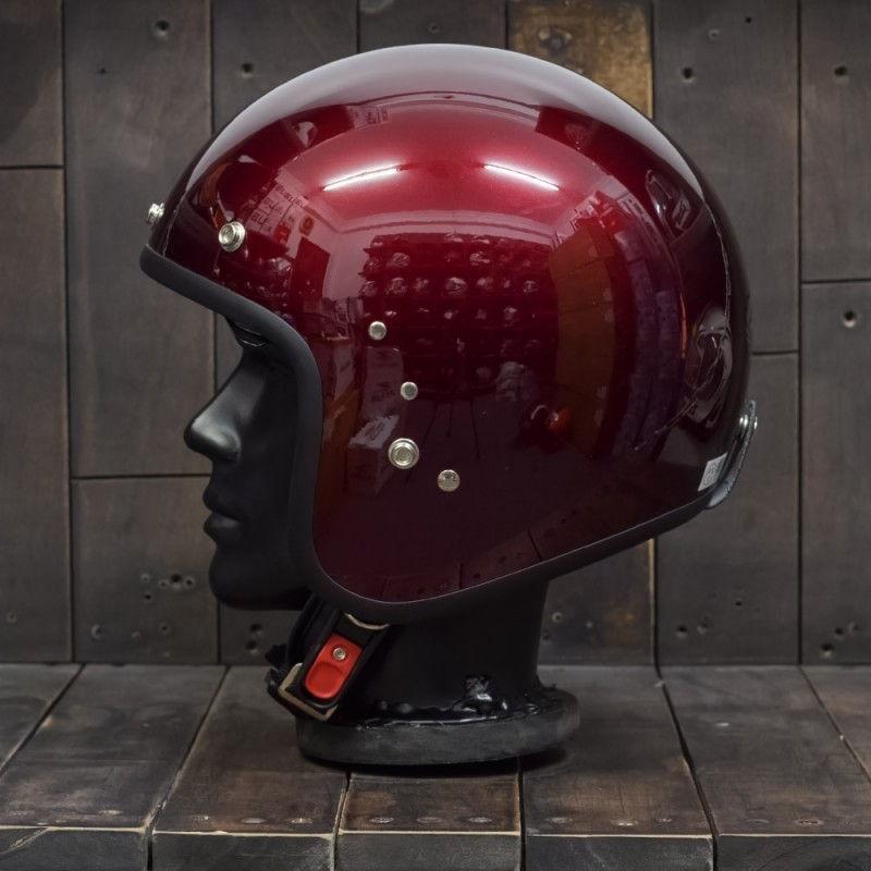 Mũ bảo hiểm OWL HBSmall JET TT Wine 4