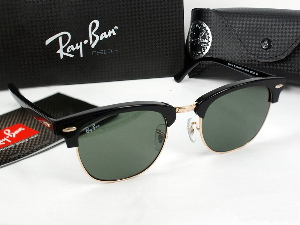 Mắt kính RayBan Clubmaster Aluminum Cao Cấp 1