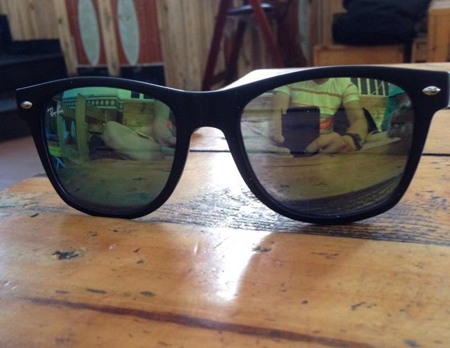 Mắt kính RayBan Wayfarer tráng gương 3