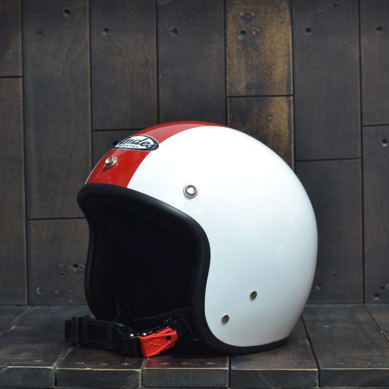 Mũ bảo hiểm 34 Andes 111 TrắngĐỏ 1