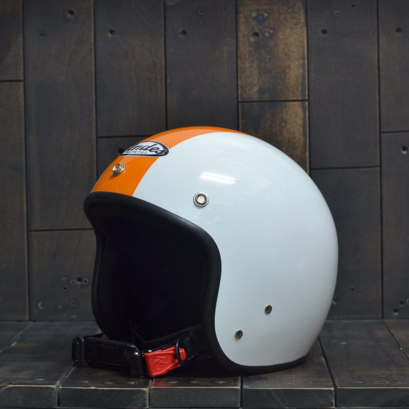 Mũ bảo hiểm 34 Andes 111 Trắng Cam 1