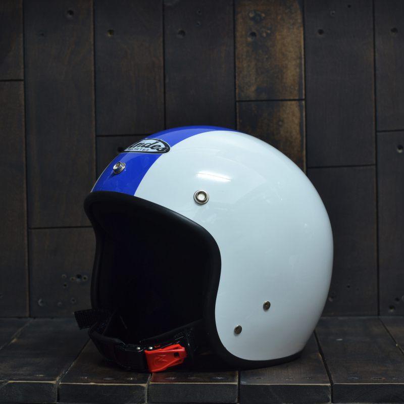 Mũ bảo hiểm 34 Andes 111 Trắng Xanh Dương 1