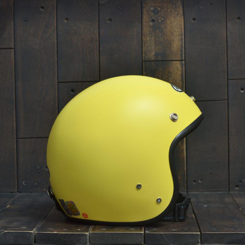 Mũ bảo hiểm 3/4 Andes 111 Vàng Nhám 3