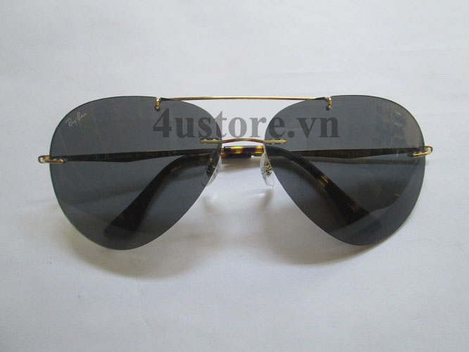 Mắt Kính Rayban Aviator 8055 Teach Màu Đen