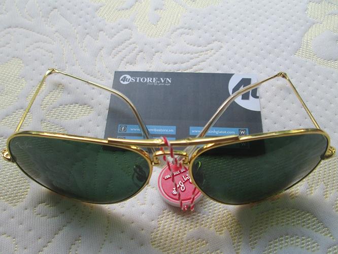 Mắt kính RayBan phi công gập cao cấp 5