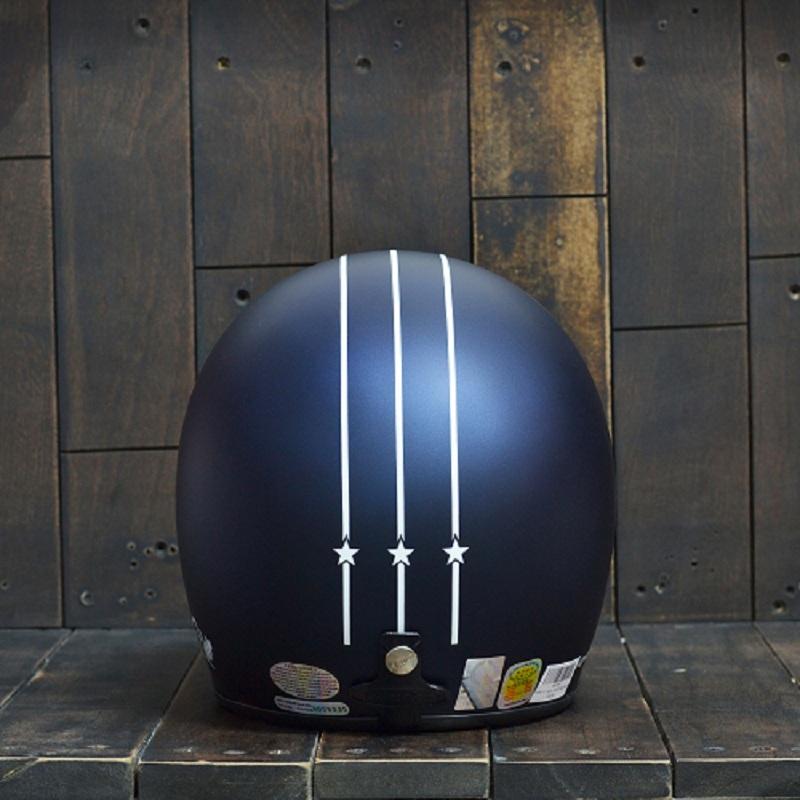 Mũ Bảo Hiểm ANDES 111 Arrow Xanh/Trắng Nhám 2
