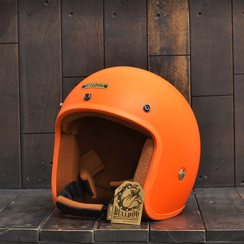 Mũ Bảo Hiểm 3/4 Bulldog Perro Cam 1