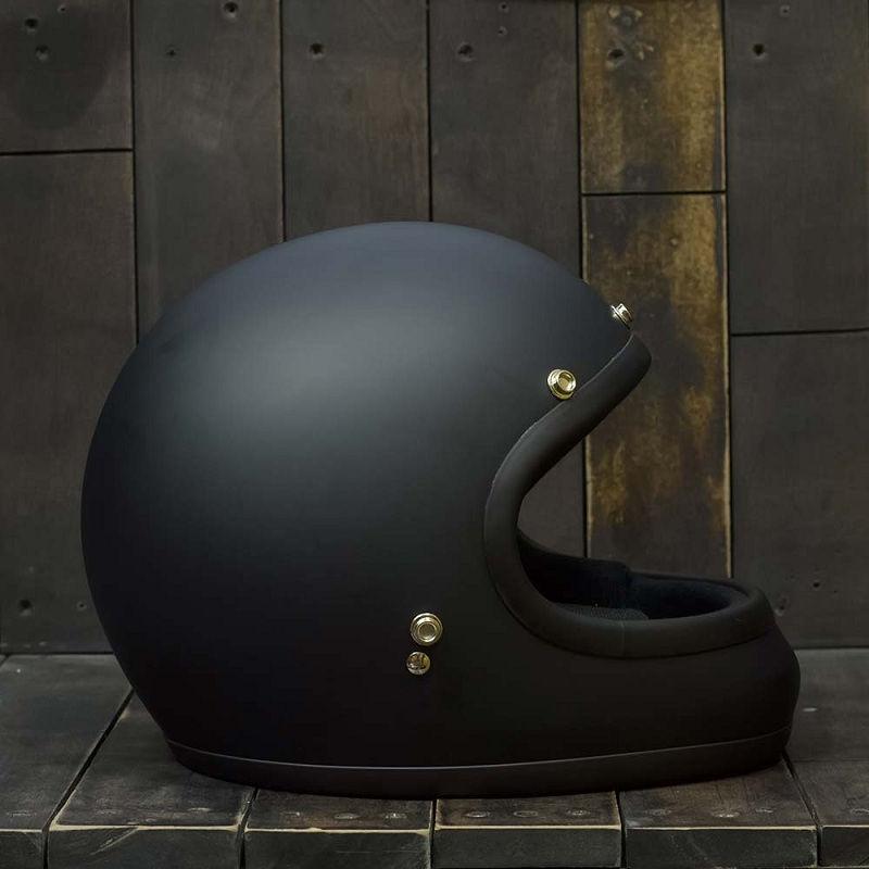 Mũ Bảo Hiểm AKIRA Đen Nhám 2
