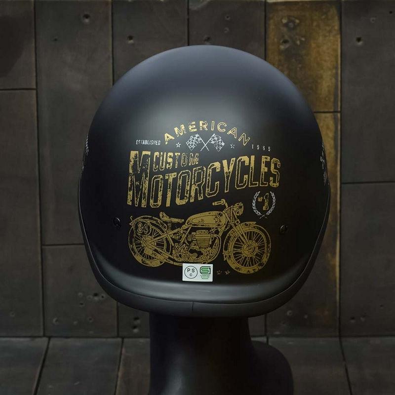 Mũ Bảo Hiểm Nửa Đầu REVEL CUSTOM MOTOR 2