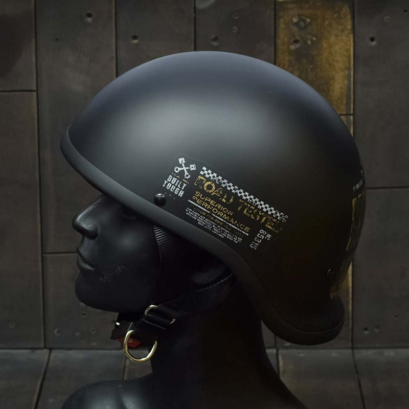 Mũ Bảo Hiểm Nửa Đầu REVEL CUSTOM MOTOR 3