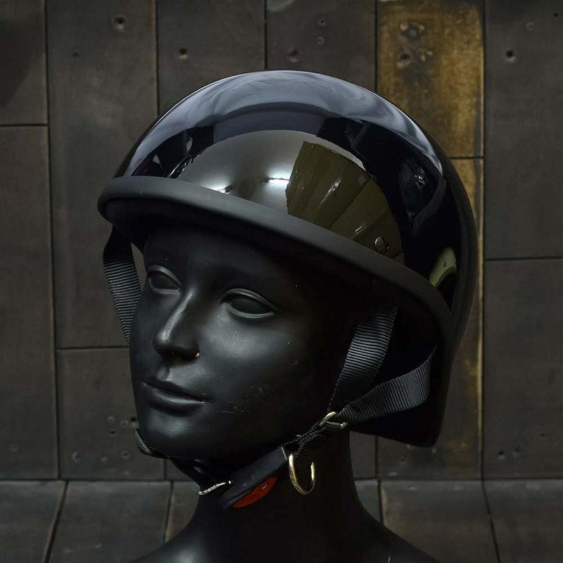 Mũ Bảo Hiểm Nửa Đầu REVEL ĐEN 1