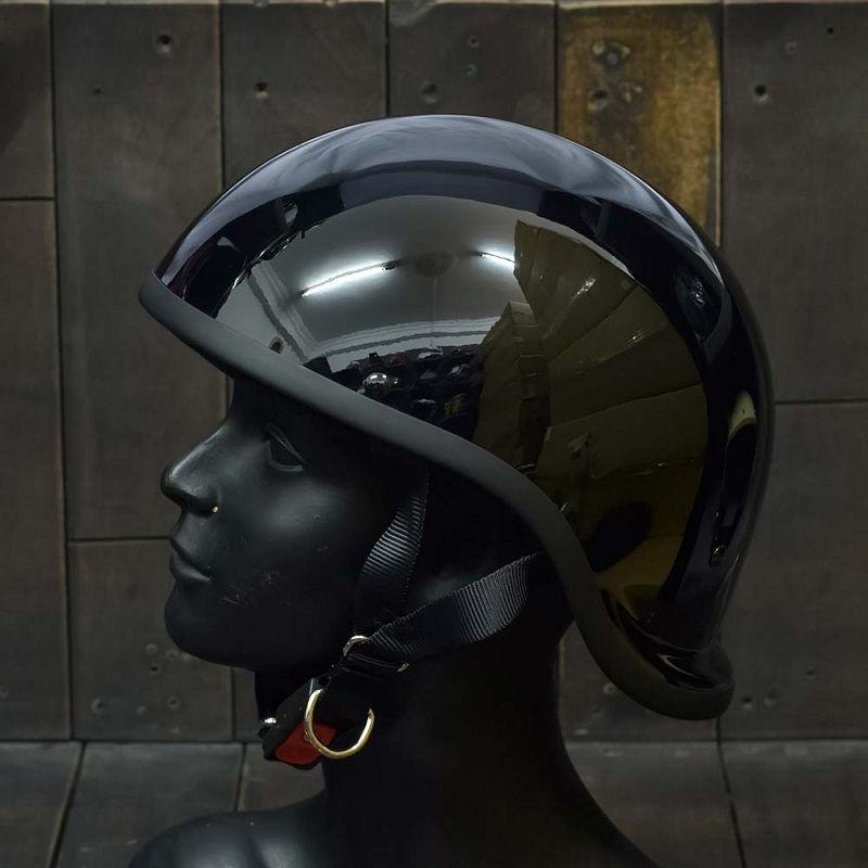 Mũ Bảo Hiểm Nửa Đầu REVEL ĐEN 3