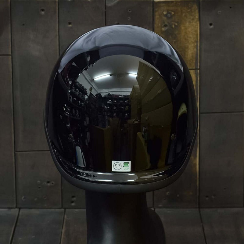Mũ Bảo Hiểm Nửa Đầu REVEL ĐEN 2