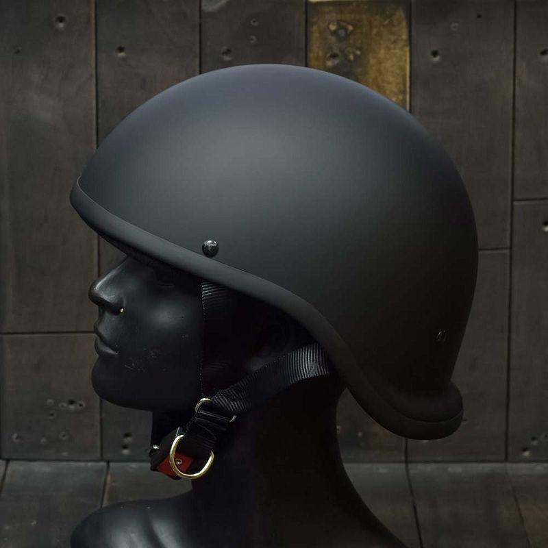 Mũ Bảo Hiểm Nửa Đầu REVEL ĐEN NHÁM 3