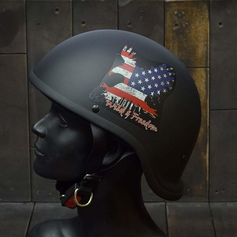 Mũ Bảo Hiểm Nửa Đầu REVEL WILD FREEDOM 3